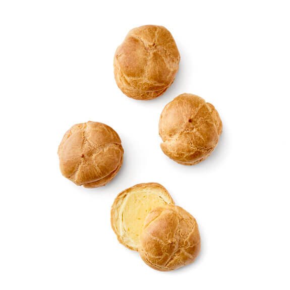 Jumbo Pastry Cream Puffs