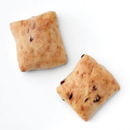 Cranberry Square Ciabatta Rolls