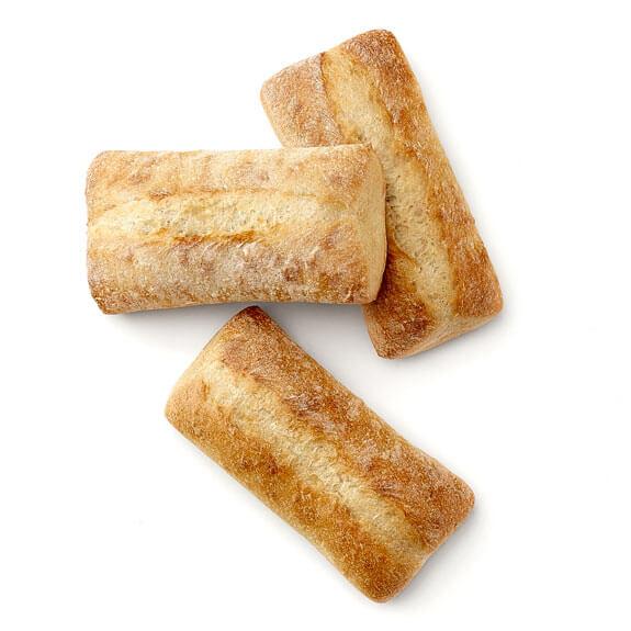 Ciabatta Sandwich Roll 6''