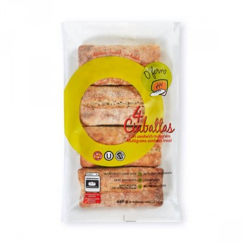 4 Ciabattas Pain Sandwich Multigrains