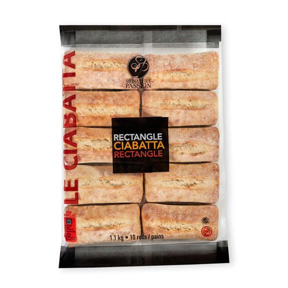 Rectangle Ciabatta (10 pack)