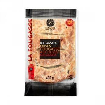 Kalamata Olive Fougasse